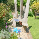 Garden with artist bench IMG_9566